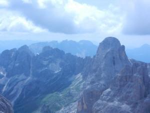 Panorama sul gruppo del Catinaccio