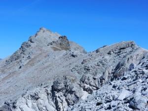Il Pelvo al fondo della cresta