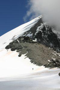 Grande Sassière (Aiguille de la). Compagnia della Cima, 3747 m. F