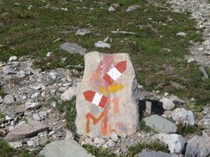 Sentiero verso Monte Maniglia Compagnia della Cima