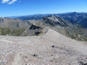 Parte finale salita al Monte Maniglia Compagnia della Cima