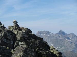 Verso la cima della Punta Roma