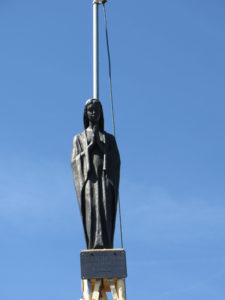 Statua di vetta