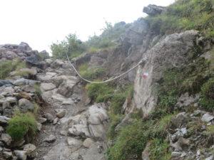 Sentiero Dino Icardi, tratto Battaglione Valcamonica