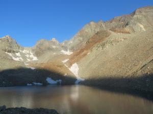 Lago vicino al Rifugio