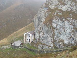 Santuario di San Besso dall'alto