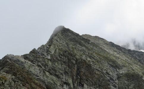 Cresta di salita cima dell'Uomo Storto