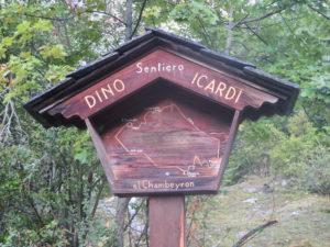 Sentiero Dino Icardi S18