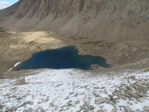 Lac de Neuf Couleurs 2834 m (Lago dei nove colori)