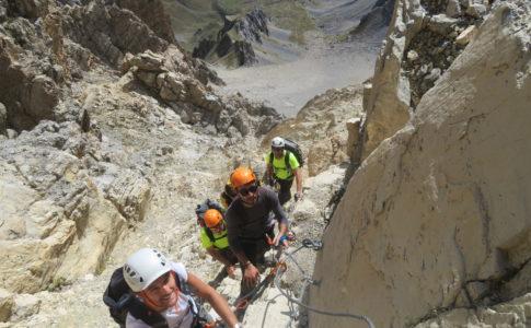 Punta Donero via attrezzata degli alpini