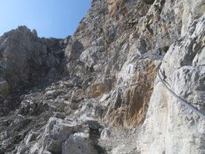 Via attrezzata degli alpini