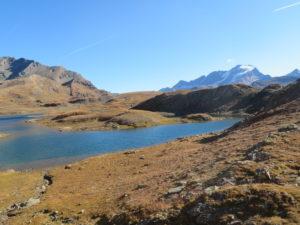 Lago con vista sul Gran Paradiso