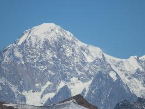 Sua maestà il Monte Bianco