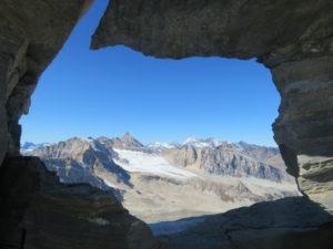 Finestra sulla Val di Rhêmes dalla Punta Basei